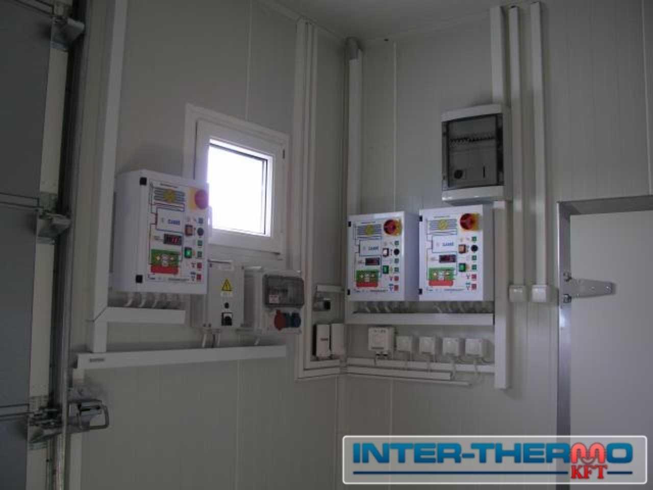 Hűtőkamra vezérlőszekrények